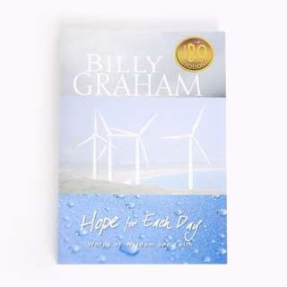 *BRAND NEW* Hope for Each Day by Billy Graham
