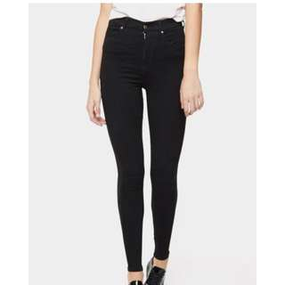 Dr. Denim high wasted skinny jeans 32 inch (size 12)