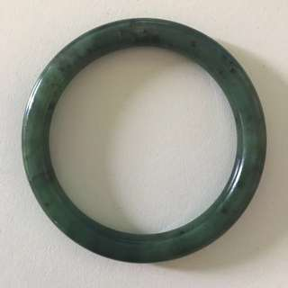 Authentic New Zealand Jade Bangle