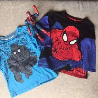 H&M Spiderman Long Sleeve T-shirt