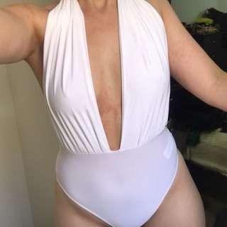 Plunge bodysuit