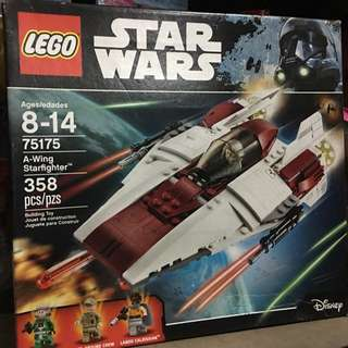 Lego Starwars A-wing Starfighter 75175