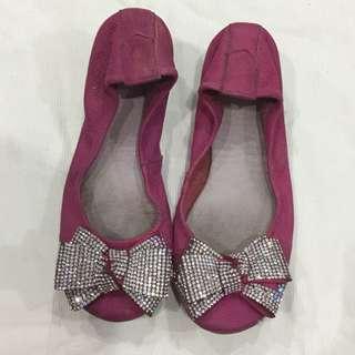 Pazzion Pink Ribbon Shoes