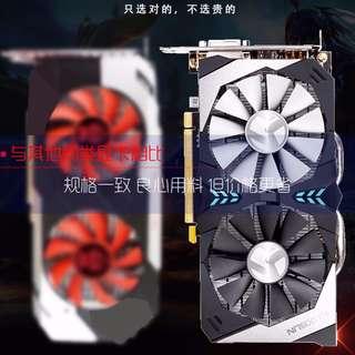【二手】铭瑄GTX1060 6G终结者吃鸡台式电脑游戏独立显卡