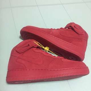 Nike Air Force 1 Red (Inspired)