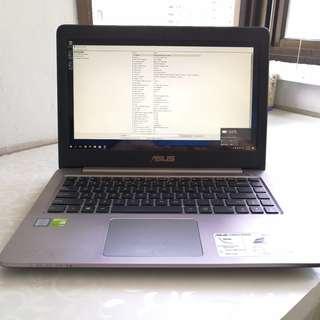 Asus K401U i7-6500U 8GB RAM 250GB SSD Geforce GTX940M