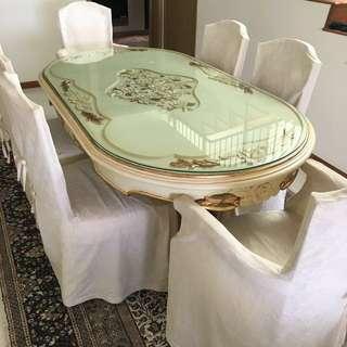 Antique Victorian Design Full Set Furniture