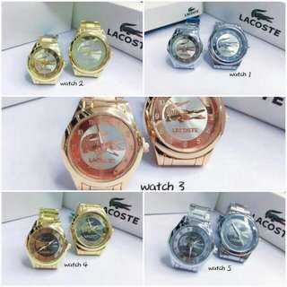 Stainless relo watches couple