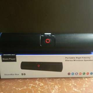 Stereo wireless speaker