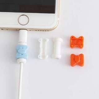 USB叉電線保護器 蝴蝶結