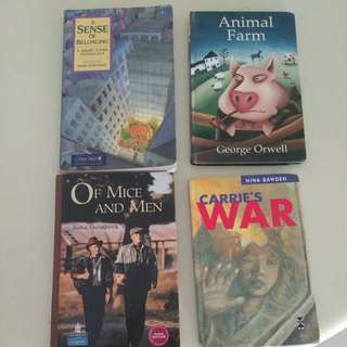 English Literature Books