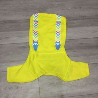 Yellow Pet Onesie (for small breeds)