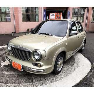 2004年 復古風馬曲 車主換新車出售  全車內外超級漂亮 免整理無待修 可全額貸款.零頭款.新手代步非常適合!