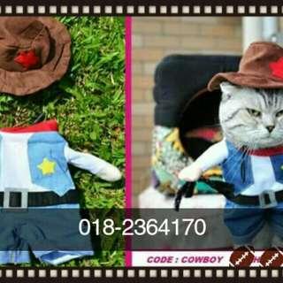 Baju kucing comel