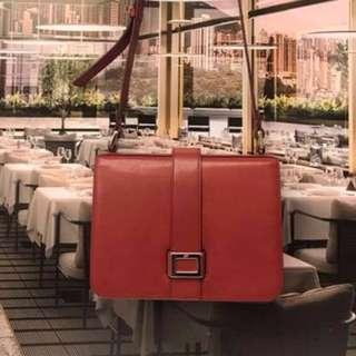 🈹聖誕大優惠貨品Roger Vivier Leather Handbag