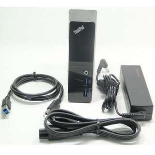 Lenovo ThinkPad USB3.0 Dock 99%NEW (MacOS systems&Windows systems )