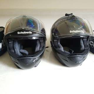Schuberth C3 Pro ( 2 sets) Touring helmet