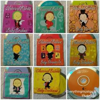 9 CD Classical Babies (Mozart, Beethoven, dll)