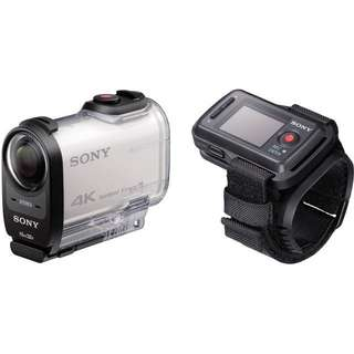 Sony FDR-X1000V 4K Action Cam with Live View Remote