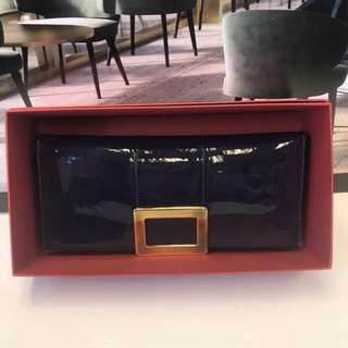 Roger Vivier Patent Leather Clutch