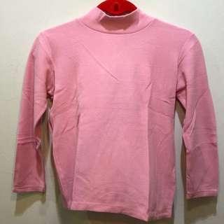 Uniqlo Pink Long Sleeve