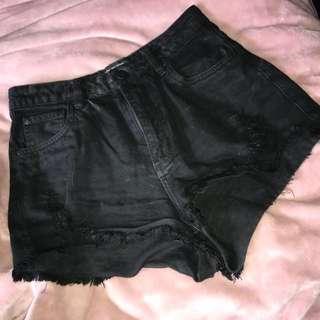 Factorie High waisted denim shorts