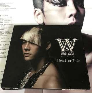 陳偉霆 Heads or Tails CD + DVD