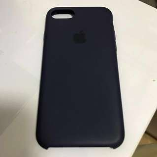 iphone 7/8 Silicone case - apple原廠 - midnight blue