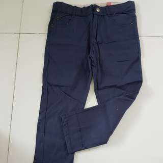 Navy blue pants