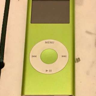 iPod nano 2 4GB Green