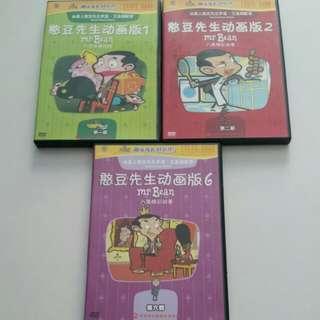 Mr bean DVD x3