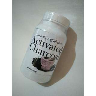 Natural Herb Activated Charcoal Supplement