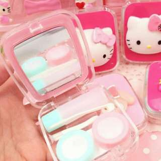 Hello Kitty Contact Lens Case (square)