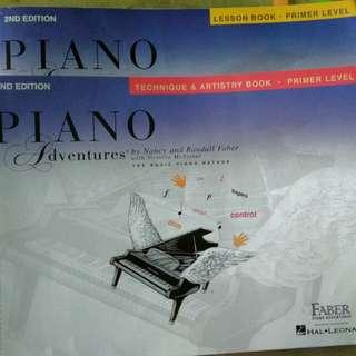 Piano Books primer level