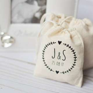 #1212yes customized favor/gifting/weddig drawstring pouch