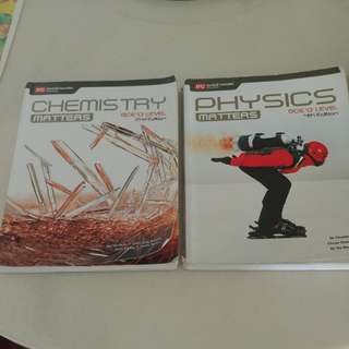 GCE O Levels Science Textbooks