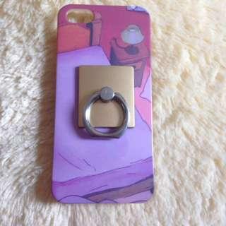 Iphone 5 case plus i-ring