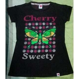Kaos Cheery Sweety