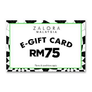 Zalora RM75 Gift Voucher