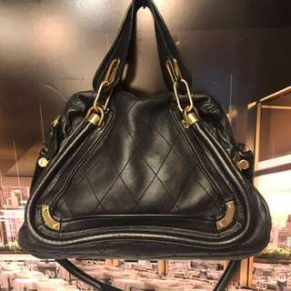 🈹Chloe Paraty Medium Leather Shoulder Bag