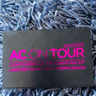 AUSTRALIS AC ON TOUR Contouring & Highlight Kit