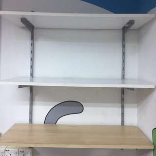 IKEA wall upright shelves