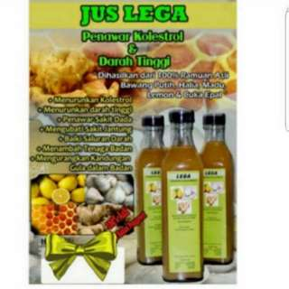 (INSTOCKS AVAIL) Authentic Jus Lega Nutritional Drink Cholesterol Buster Cleanser