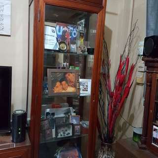 Rosewood Display Cabinet (SOLD)