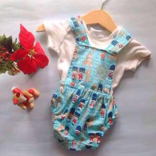 🆕GILBERT BABY BOY'S OVERALL for (newborn - 6 months)