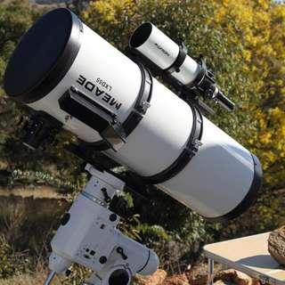 "Telescope 10"" Schmidt Newtonian Reflector EQ6 Mount + Variety Accessories."