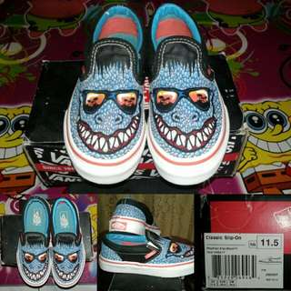 Vans Reptillian Slip on kids original with box