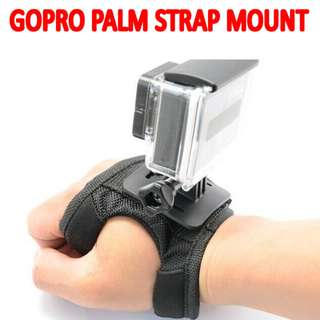 TGP044 Palm Strap Mount for Sport Camera Hero Session