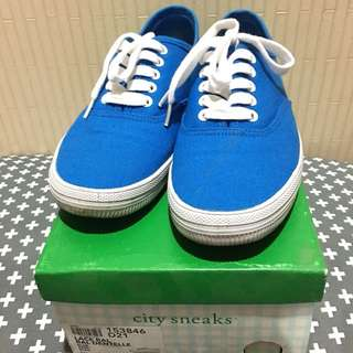 City Sneakers (Blue)