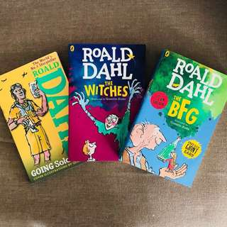 Roald Dahl Books (Bundle of 3)